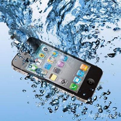 Утонул iPhone