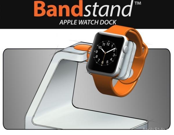 Bandstand - подставка для iWatch