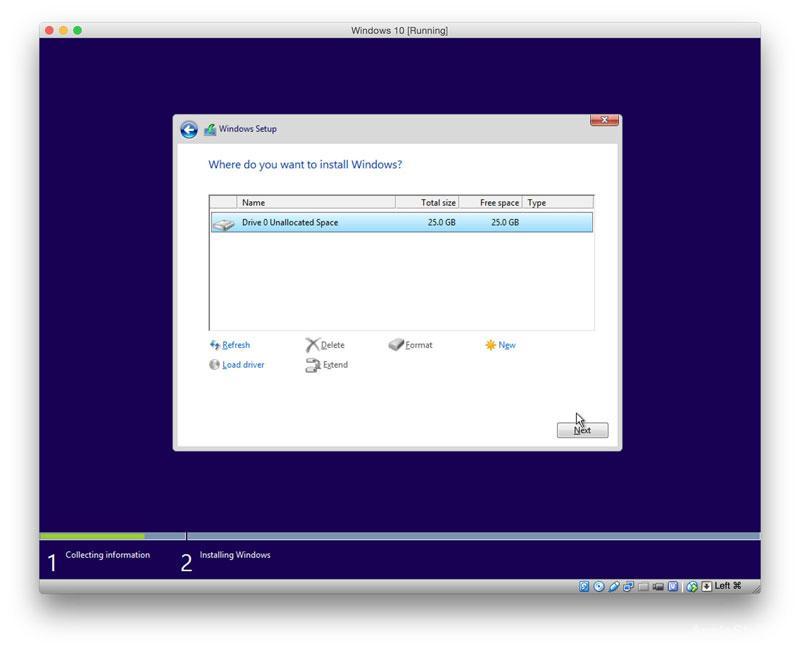Установка Windows при помощи Virtual Box
