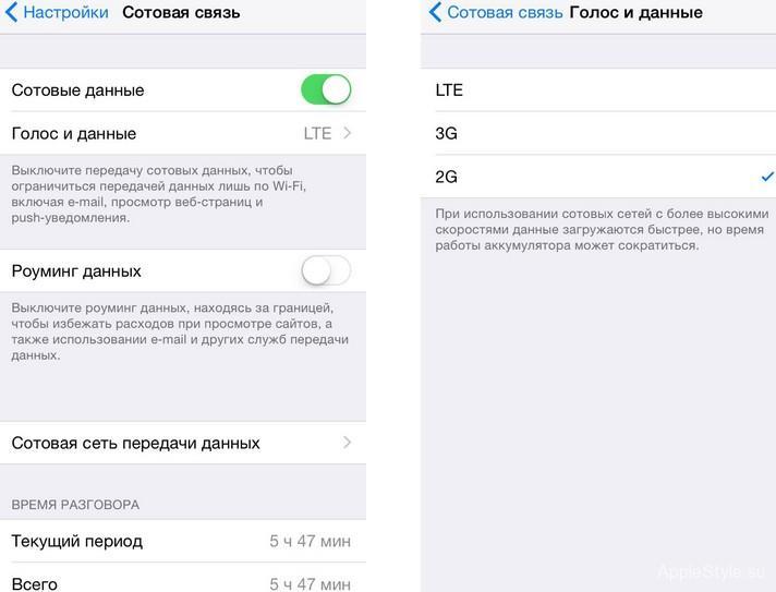 Настройки SMS в iPhone 6