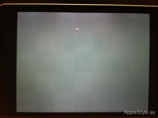 Тест матрицы MacBook