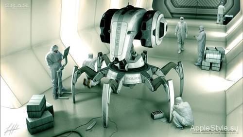 Шагающий робот-краб