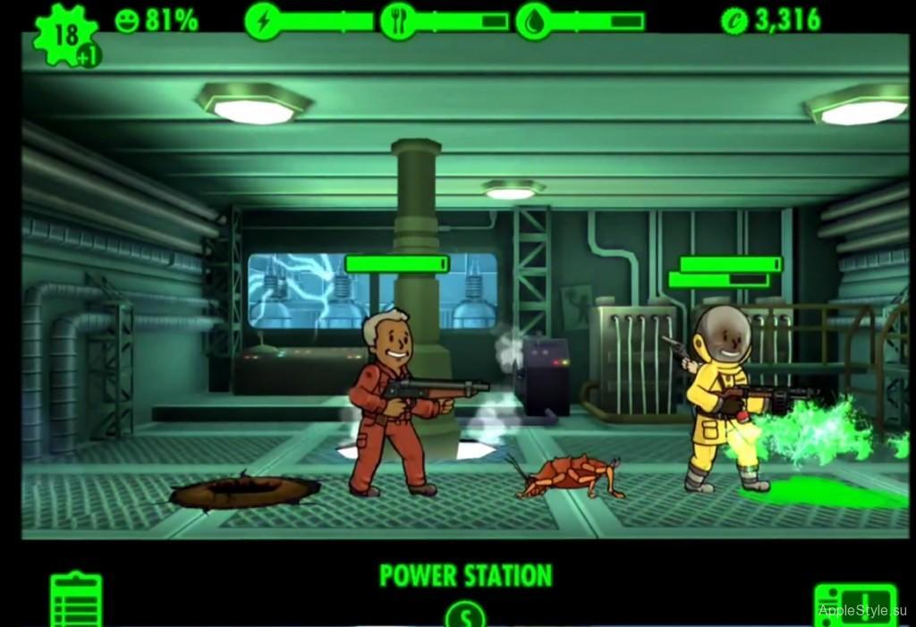 Секреты Fallout Shelter для ios