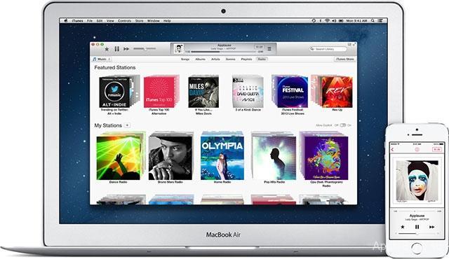 Используем iTunes