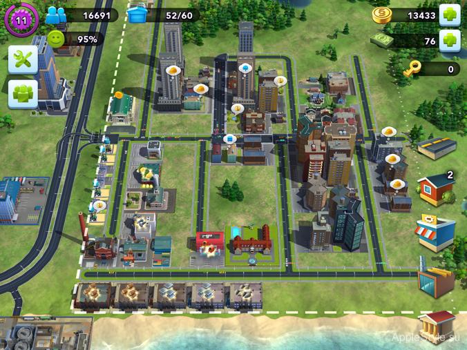 Симолеоны в SimCity BuildIt
