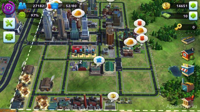Золотые ключи в SimCity BuildIt