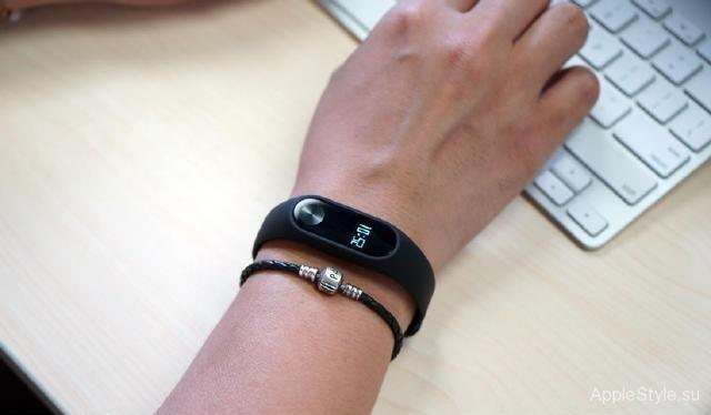 Новый фитнес-браслет от Xiaomi