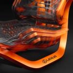 Компания Lexus представит высокотехнологичное кресло