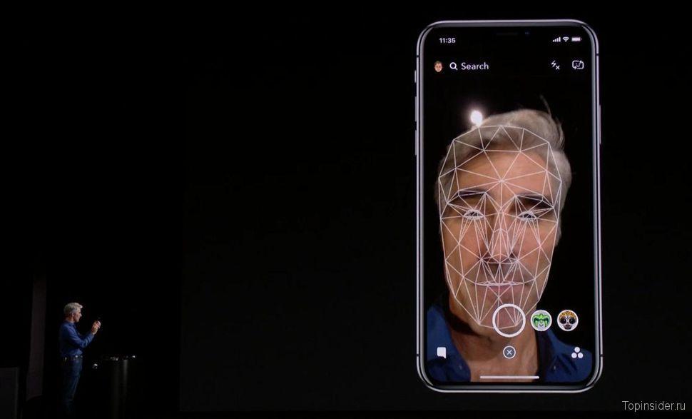 Функция Face ID
