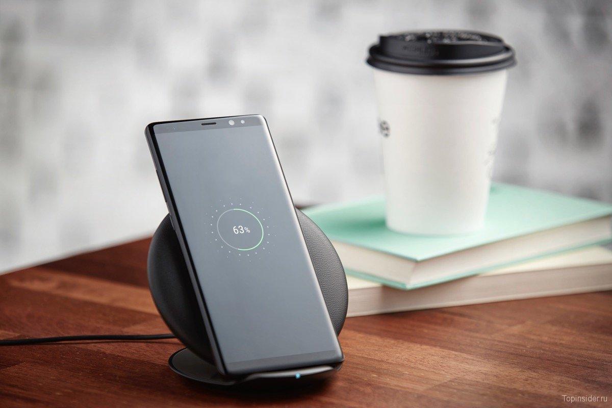 Беспроводная зарядка Samsung Galaxy Note 8