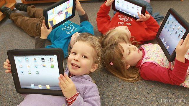 Учим цифры с iPad