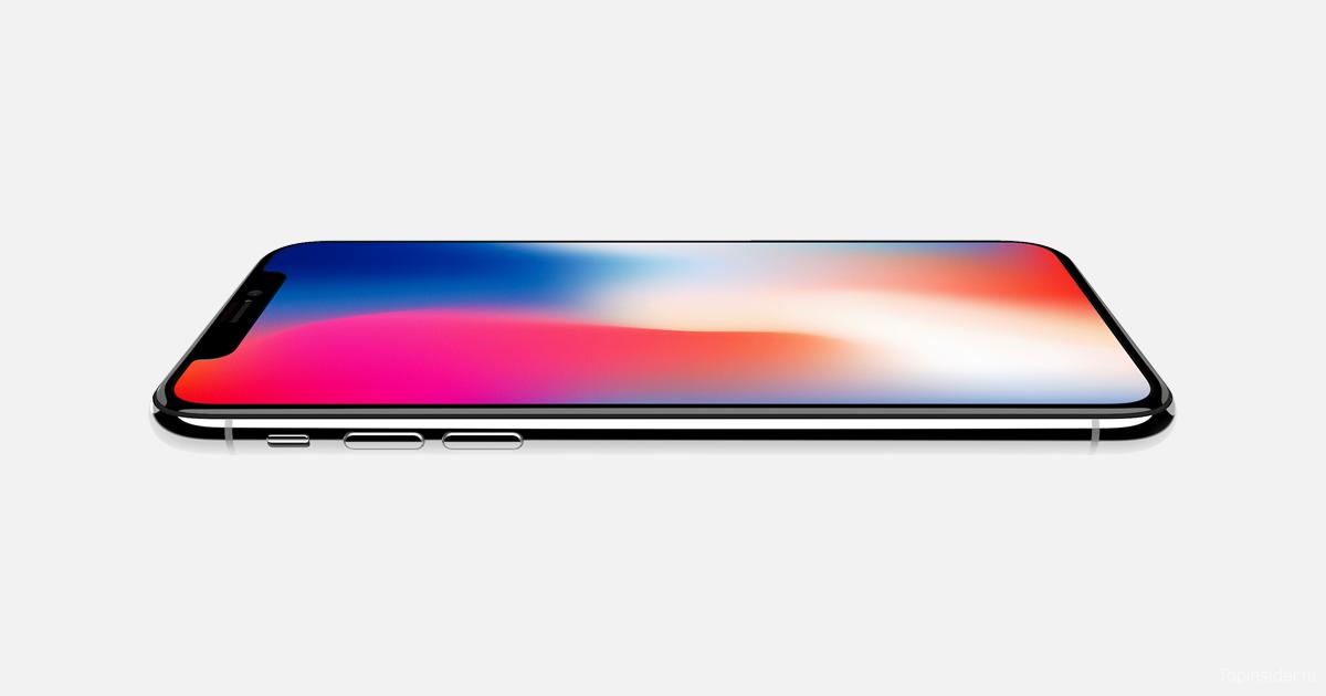 Популярность iPhone X зашкаливает