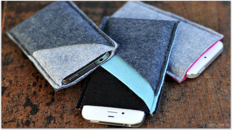 Чехол для iPhone 7 из ткани